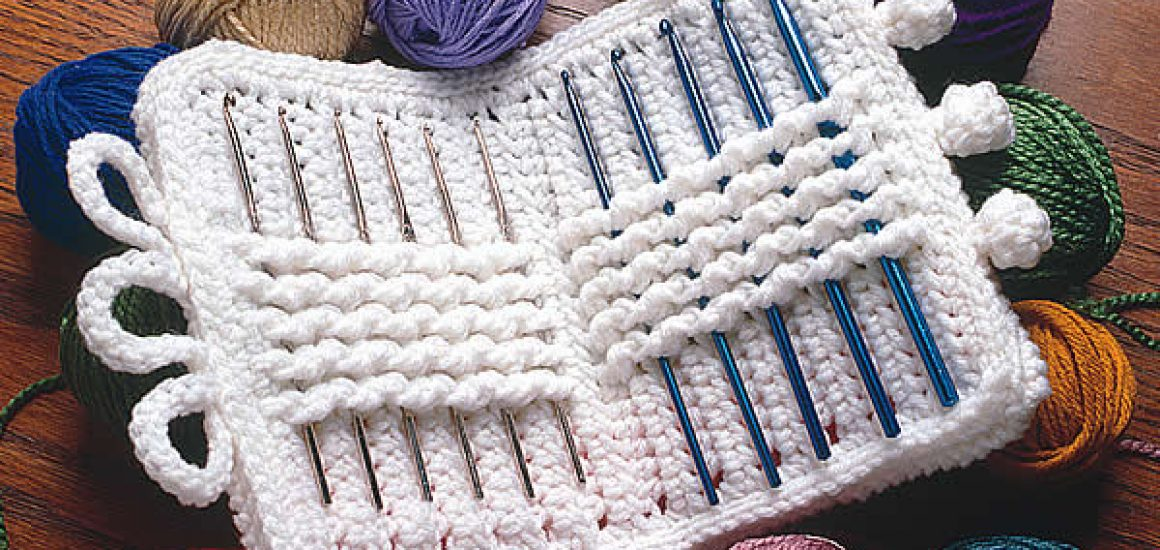 Crochet hook case cotton